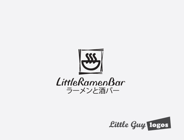 Little-Ramen-custom-logo-design-8