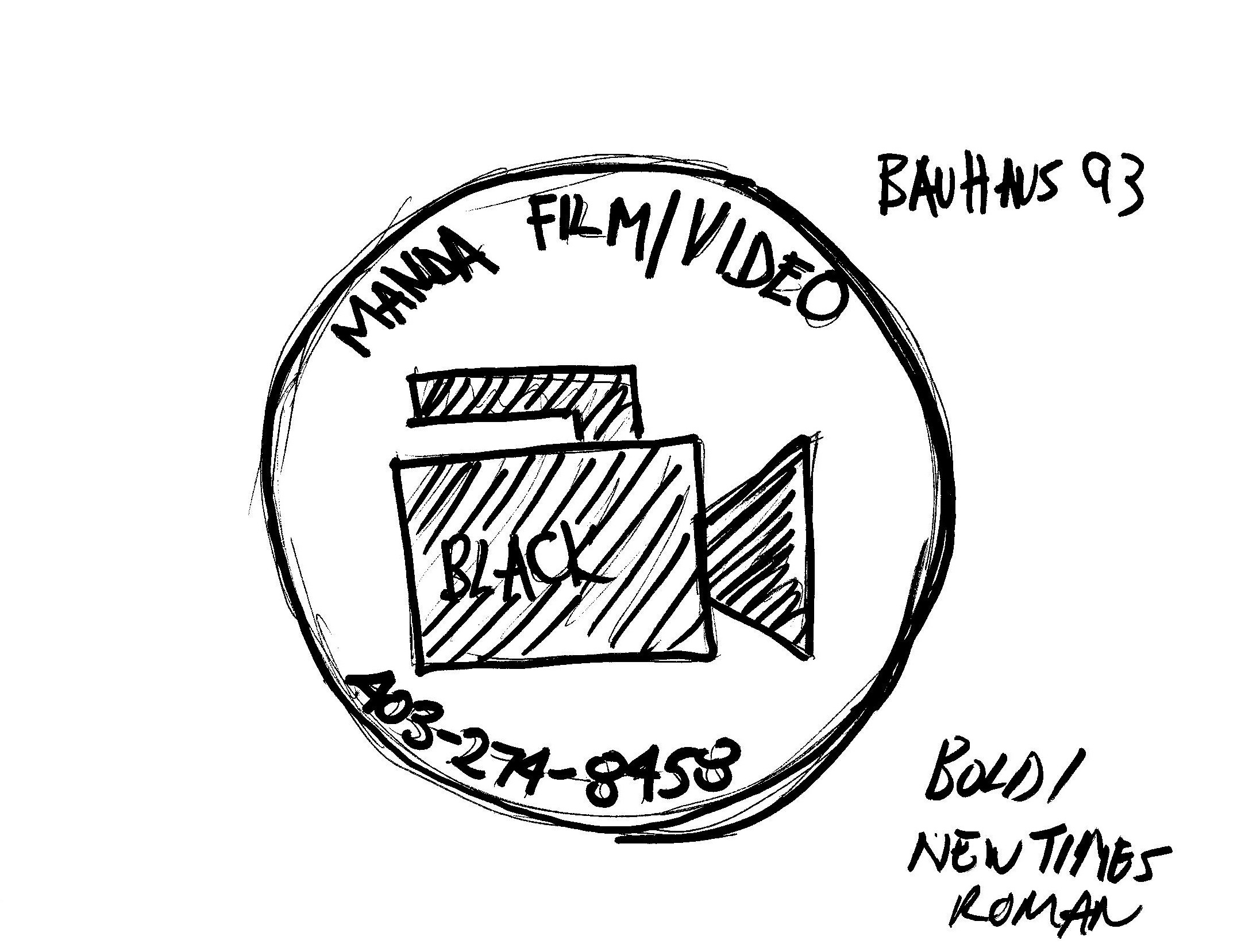 Manda Film Video Custom Logo