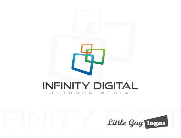 Digital Media Business Logo