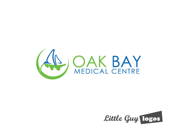 oak bay clinic custom logo design 2