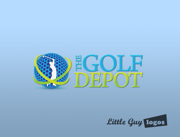 The Golf Depot Strong Logo For A Power Seller On Ebay