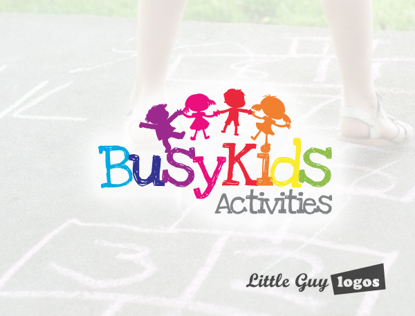 Kids Games and Activities Business Logo 2