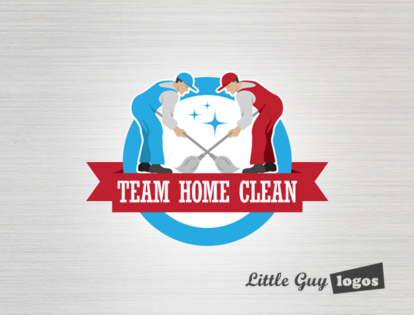 home-cleaning-company-logo
