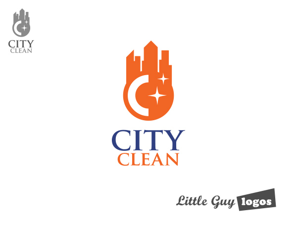 cleaning business logo design 2