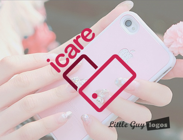 girly iphone repair logo